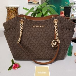 Brand New Michael Kors Chain Shoulder Bag